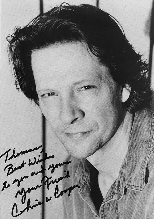 Chris Cooper Autograph