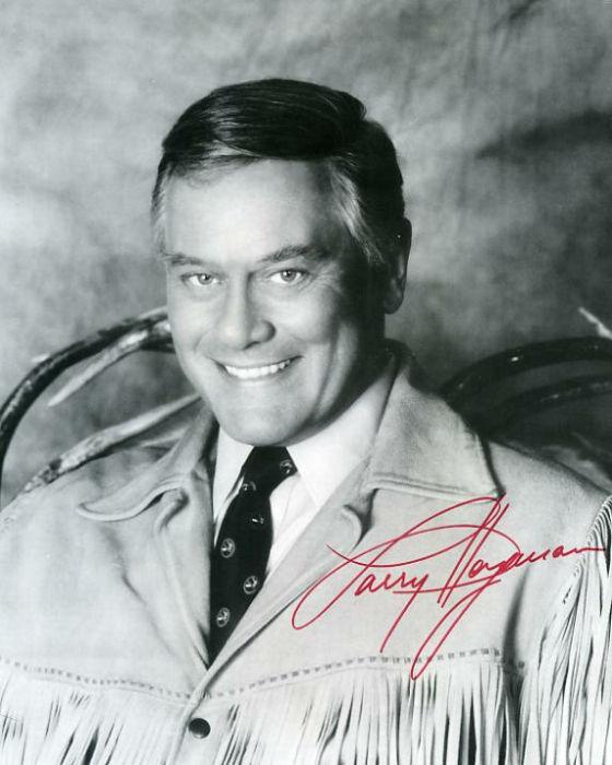 Fort Worth Texas >> Larry Hagman Autograph